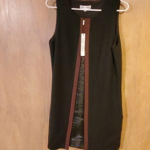 Cindy + Johnny sleeveless black dress size large